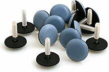 Design61 Möbelgleiter 16x Bodenschutz Gleiter