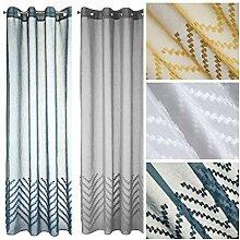 Design91 Moderner Vorhang Diane Gardinen mit