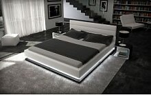 Designer Bett Moonlight Bettgestell mit LED