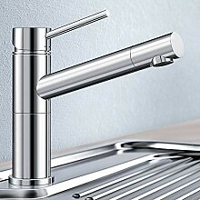 Designer BLANCO ALTA COMPACT Küchenarmatur Chrom