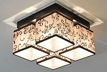 Designer Decken Leuchte Lampe Retro Deckenleuchte