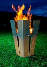 Designer Feuerstelle fuji (Design Feuerkorb 2: