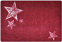 Designer Fußmatte Stern für Haustür, Flur,