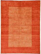 Designer Gabbeh Teppich Orientalischer Teppich 202x154 cm Handgeknüpft Designer