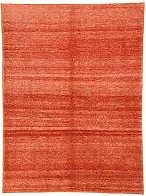 Designer Gabbeh Teppich Orientteppich 200x151 cm Handgeknüpft Designer