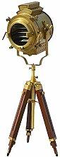 Designer Handgefertigte Lampe, nautische Antike