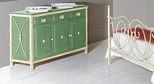Designer-Kommode Pedro, grün