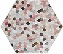 Designer Kuhfell Teppiche Hexagone Teppiche für