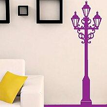 Designer Lam Beitrag Wohnzimmer Vollwandvinylaufkleber Easy Peel & Stick Aufkleber