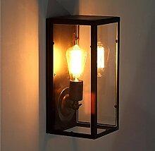 Designer-Lampe kreative Mode modernen minimalistischen Nachttisch Balkon Treppe Lampe Pandora Acryl schmiedeeisernen Wandleuchte