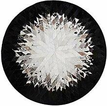 Designer Moderner natürlicher Kuhfell-Teppich |
