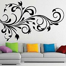 Designer Natürliche Rebe-Wand-Vinyl Schlafzimmer Aufkleber Easy Peel & Stick Aufkleber