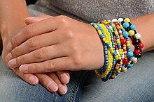 Designer Schmuck Rocailles Armband handmade Geschenk Ideen Frauen Accessoire