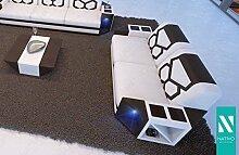 Designer Stoffsofa 2 SITZER SOFA AVENTADOR MIT LED BELEUCHTUNG NATIVO©