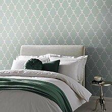 Designer Tapete Boulevardia grün Spalier