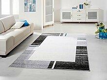 Designer Teppich blau 80 x 150 cm