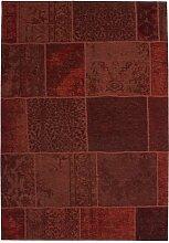 Designer Teppich Modernes Patchwork Vintage Muster