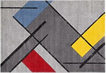 Designer-Teppich multicolor 160 x 230 cm MATISS