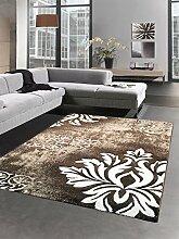 Designer Teppich Wohnzimmerteppich Kurzflor mit