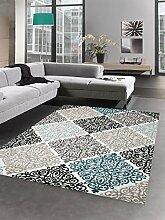 Designer Teppich Wohnzimmerteppich Ornamente