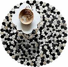 Designer Teppiche Teppich Nordic Moderne runde