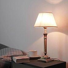 Designer Tischlampe Messing Jugendstil H:31cm