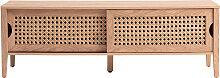 Designer-TV-Schrank mit Schiebetüren aus