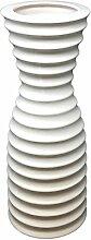Designer-Vase Manito aus Keramik weiß H 37 cm