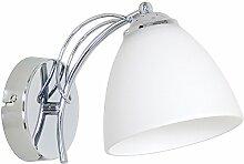 Designer Wandleuchte Wand Strahler Lampe Retro Design Restaurant Bar Salon E27 LED Marseille 1