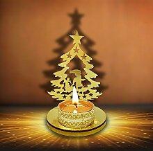 Designer Weihnachten dekorativen Schatten Tee