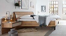 Designerbett 1205, 90x190 cm, Eiche hell