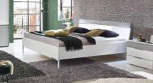 Designerbett Florice, 180x200 cm, weiß