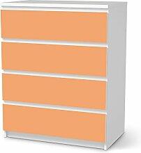 Designfolie für IKEA Malm 4 Schubladen |