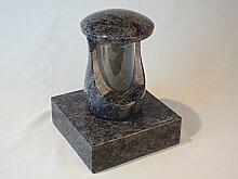 designgrab Grablampe Cerres und Sockel aus Granit