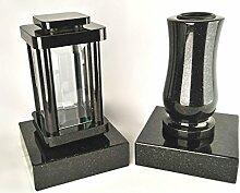 designgrab Modern Grablampe mit Vase und 2 Stück
