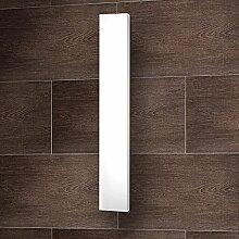 Designheizkörper Mittelanschluss Milano 180x45 cm Wohnraum-Heizkörper weiß vom Renovierungsprofi, 1 Stück, 4056397004110