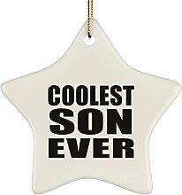 Designsify Coolest Son –, Keramik-Dekoration,