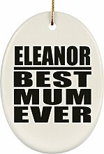 Designsify Elanor-Mutter-Ornament Mum Ever, oval,