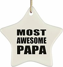 Designsify Most Awesome Papa Grandpa,