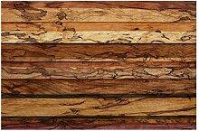 Designtapete Vliestapete Premium Woody Flamed Holz