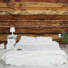 Designtapete Vliestapete Woody Flamed Holz