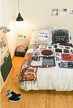 Desigual 250220 bed2 Messy Bed 2p5080, Baumwolle,