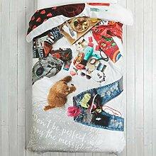 Desigual BED1Messy Bed 140200, Baumwolle,
