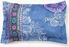 Desigual.- Cushion cover Boho Jeans 50 x 80 cm
