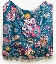 Desigual Decke Dekorativ Paisley Bloom