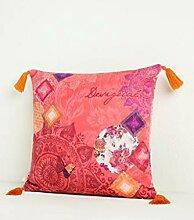 Desigual Kissen | Romantic Patch - 45 x 45 cm