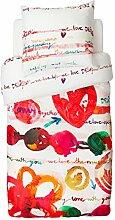 Desigual-Living 47DL032 Wendebettwäsche Love