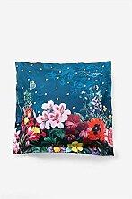 Desigual Pillow Dark Floral 6565, Baumwolle, June