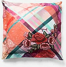 Desigual PILLOW DARK FLORAL Kissenhülle 65x65