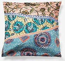 Desigual Pillow Wild 6565, Baumwolle, Geranium,